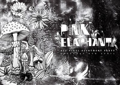 Pink Elaphant 8th April, TROPICS, Grow Elephant, London SE17 1SL.