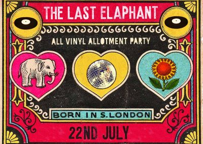The Last Elaphant, Saturday 22 July at 16:00 to 3:00