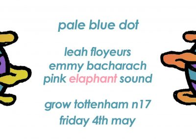 Pale Blue Dot, Saturday 4th May, 10pm-5am, Grow Tottenham, Ashley House, London, N17 9LZ