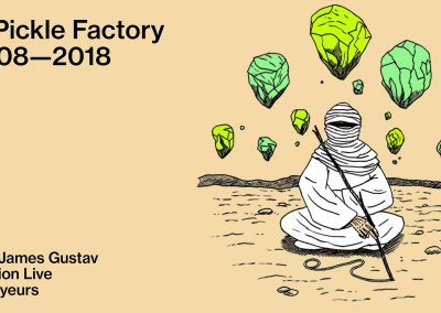Pickle Factory, 3rd August 2018, London.