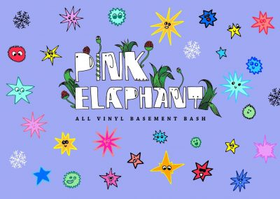 Pink Elaphant's Basement Bash, Friday 30th November, 8pm - 3am, The Four Quarters, 187 Rye Lane, London SE15 4TP.